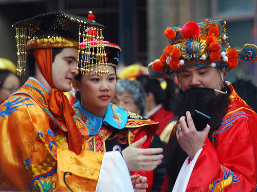 Taking a Selfie in Vancouver's Chinese New Year Parade