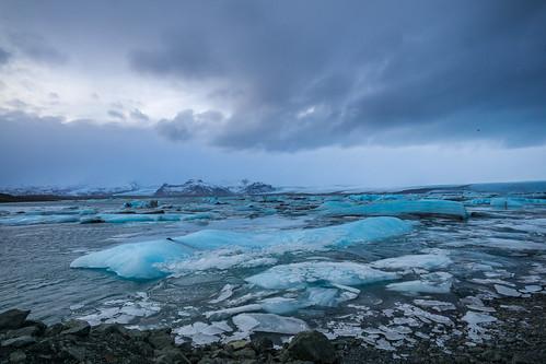 Glacier Lagoon @ Jökulsárlón, Iceland