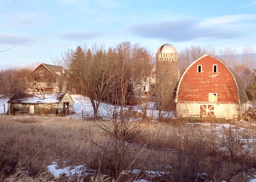 Old Farm In Chanhassen Minnesota