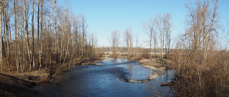 White River (1): Looking northwest