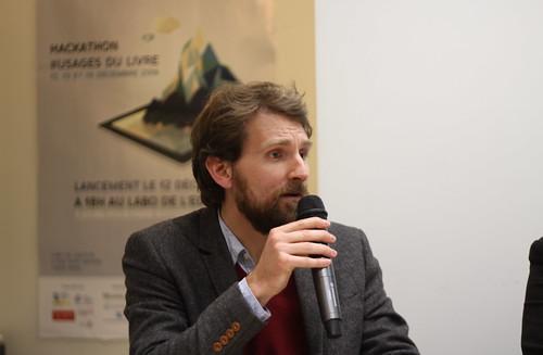 Jean-Baptiste Gendarme (Décapage) - Auteur-entrepreneur au Labo de l'édition