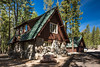 Discovery Center, a CCC-Built Rustic Structure in Lassen Volcanic National Park