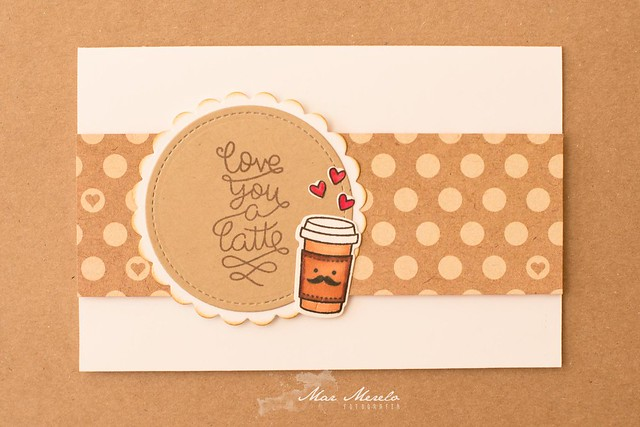 Card Love you a latte + 2