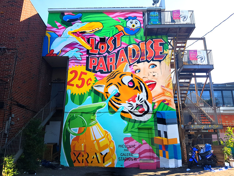 XRAY - Mural Festival, Montreal