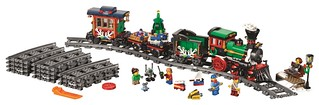 樂高迷期待已久的夢幻禮物!聖誕火車 出發啦~ LEGO 10254 Winter Holiday Train