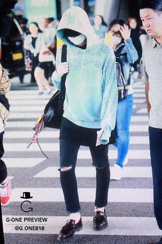 BIGBANG arrival ICN Seoul from Taiwan 2015-09-28 (25)