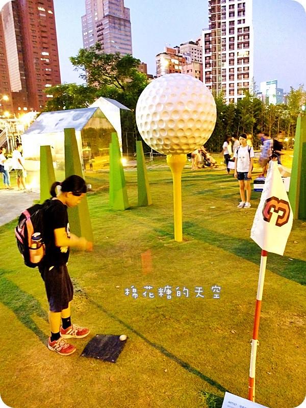 28608925026 89764202f3 b - 《台中活動》2016綠圈圈~城市裡的彩色運動場外加超創意一定讓人邊打邊笑18洞高爾夫唷-勤美術館、快來打球場+米尼葛夫俱樂部