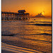 Cocoa Beach Sunrise by Fraggle Red