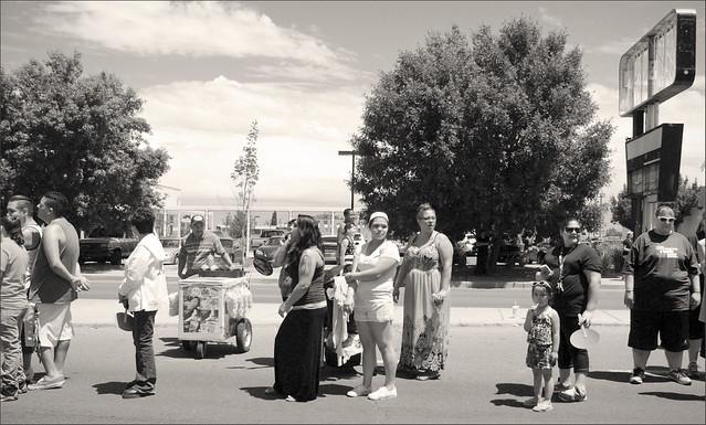 Watching the Albuquerque Pride Parade 2015