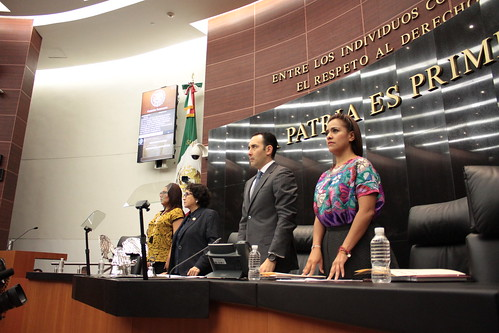 El día 10 de agosto del 2016 se llevó a cabo en el Senado de la República la Sesión de la Comisión Permanente.