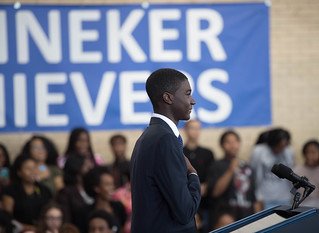 October 17, 2016 U.S. Pres.Obama @ Banneker Senior High School