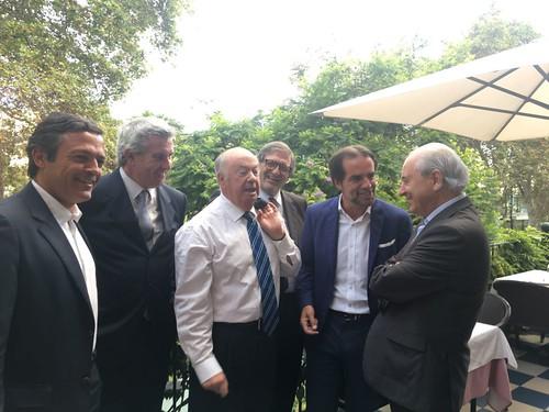 Rui Rio com Alberto João Jardim e Miguel Albuquerque