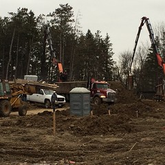 Pouring footings and foundations in #Georgetown this morning! Floorplans at menkes.com #LifeStoreys