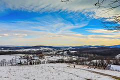 Winter Landscape at Sky Meadows State Park Delaplane VA