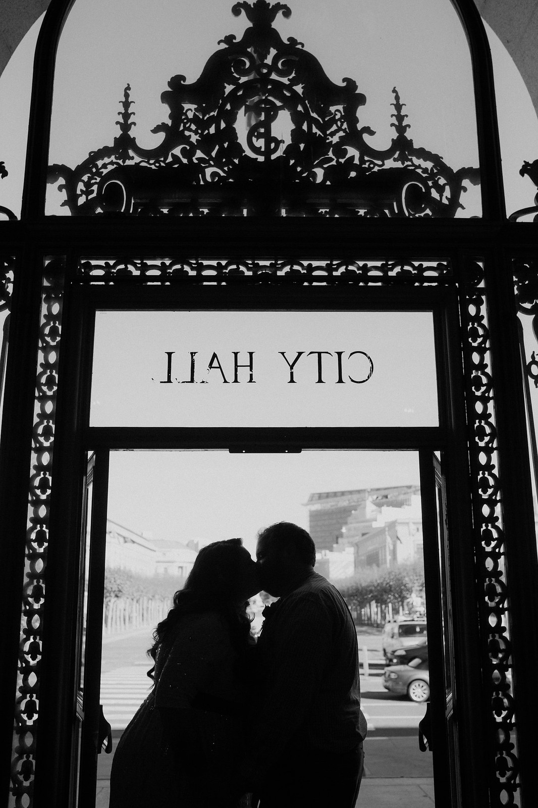 City Hall Kiss