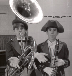 Tri-X Files 84_30.18a: Kurt and Shay, with Instruments