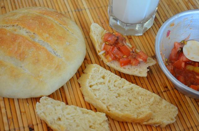 Olahan roti Artisan jadi Bruschetta ala Chef Pita!