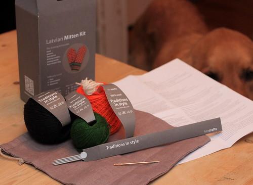 latvian mitten kit