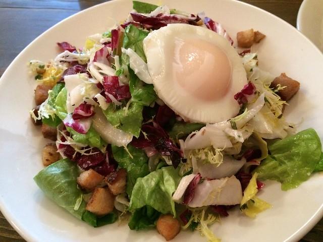 Brunch salad - Society Hill Society