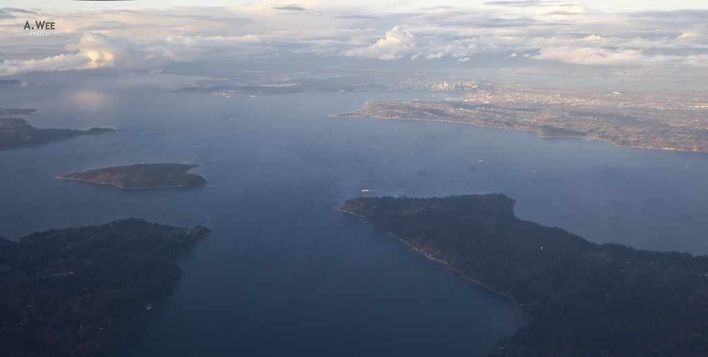 Puget Sound Aerial View
