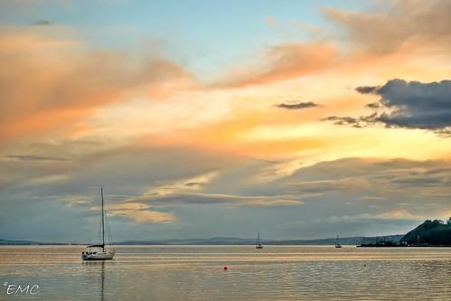 ireland sunset sea sky seascape clouds boats boat nikon shoreline eire coastal yachts hdr donegal irlande ulster waterscape moville inishowen foyle loughfoyle bythesea photomatix coastalview coastalireland irlandi d3100