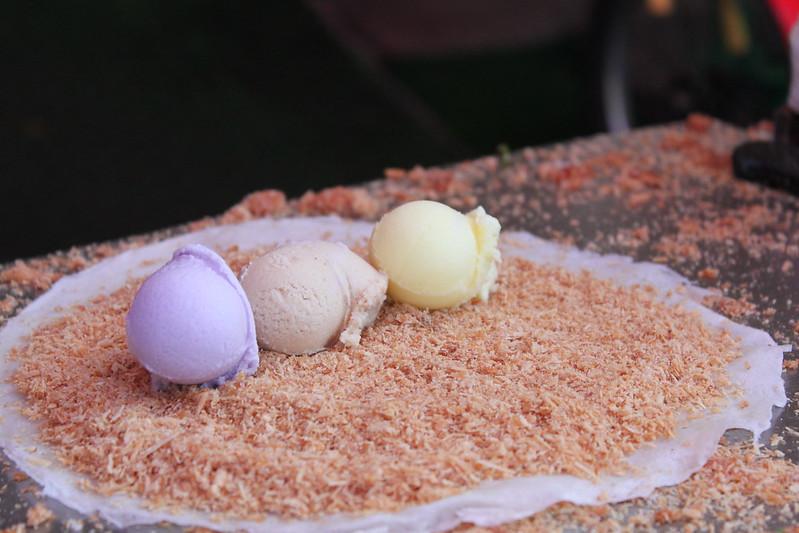 宜蘭梅花湖-必訪美食-花生捲冰淇淋