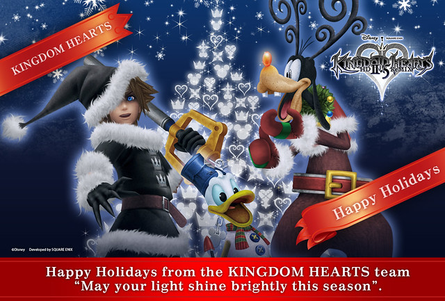 Kingdom Hearts Holiday Card 2014