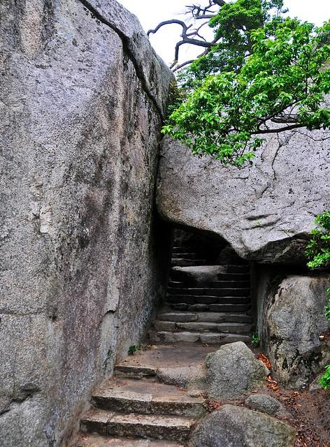 Stairway on Mount Misen