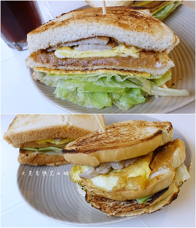 10 板橋萬粟華碳燒三明治