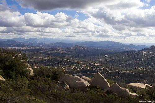 mountains hills rocks plants clouds valley mountwoodson poway sandiego california canonrebelt4i unitedstates america usa