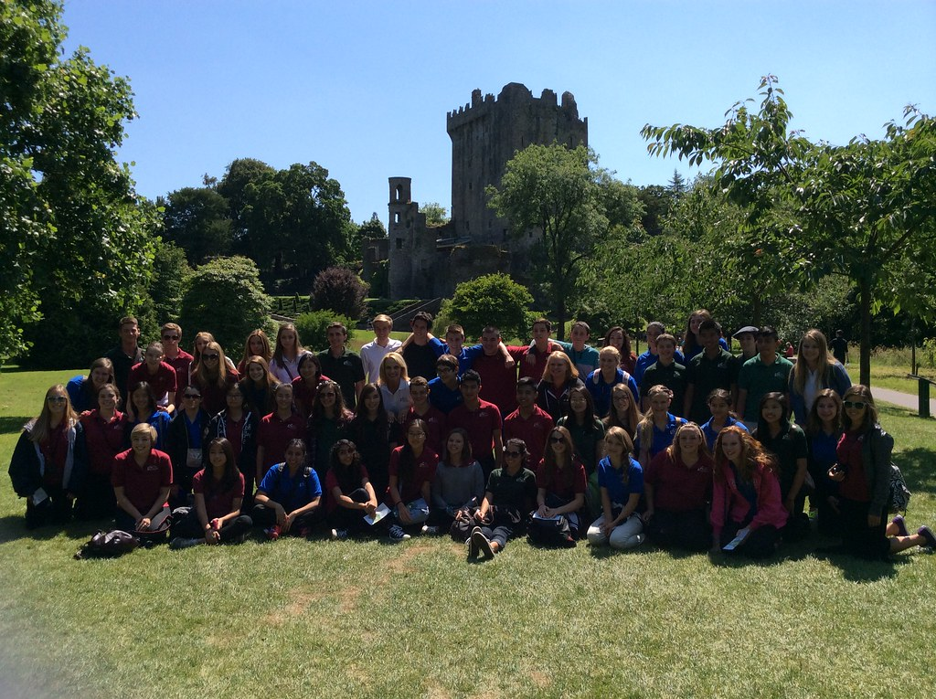 Southern California Children's Chorus at Bunratty Castle