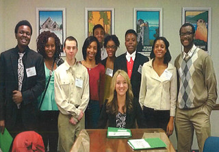 Rep. Stambaugh meets with youth from the Safe Streets Campaign