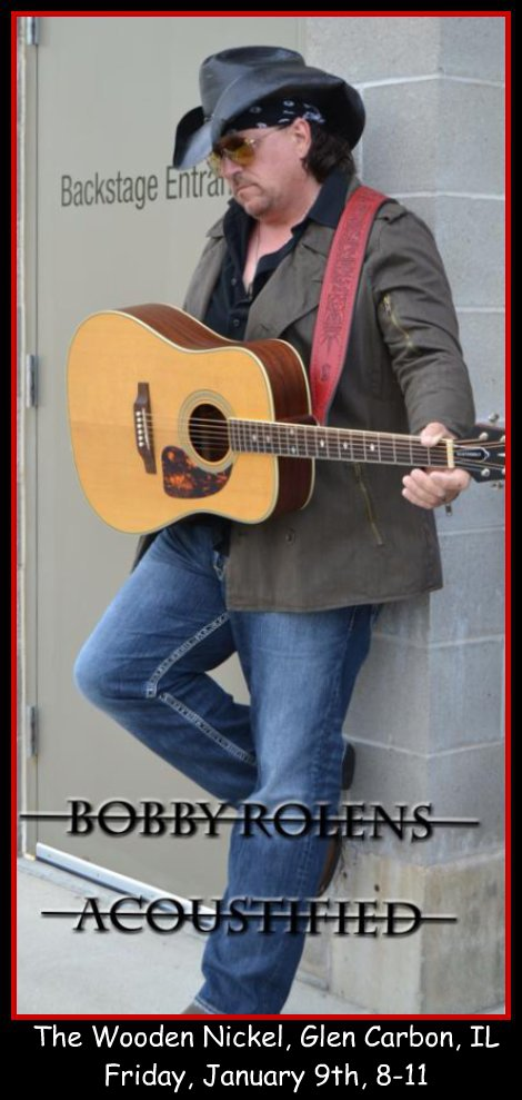 Bobby Rolens Acoustified 1-9-15