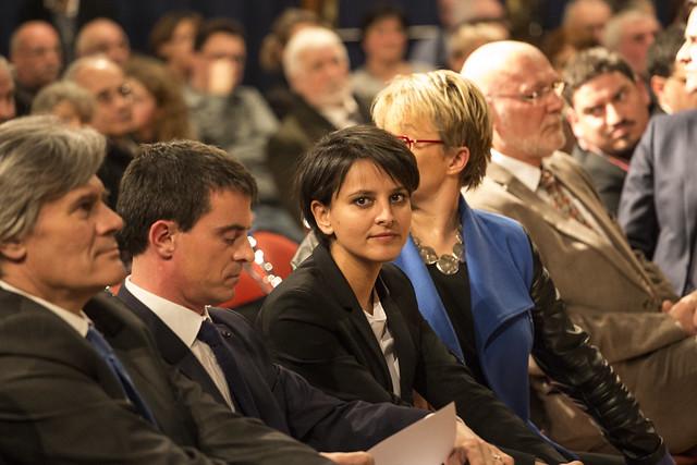 Départementales 2015 : Manuel Valls en meeting à Betton