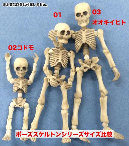 Re-ment 骷髏人 02/03 盒玩