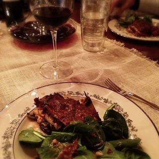 Eggplant Prosciutto Lasagna