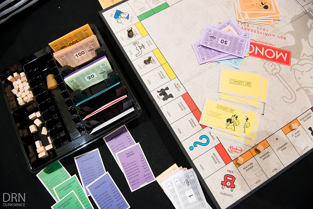 80th Anniversary Monopoly.