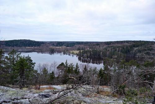 lake forest espoo finland geotagged december u fin nuuksio uusimaa nyland 2011 esbo pitkäjärvi mustakallio 201112 20111231 lakesofnuuksio geo:lat=6028406600 geo:lon=2457438200