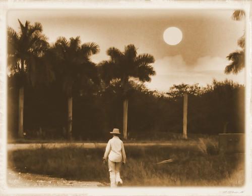 Wolf Moon walk RETRO 20150105