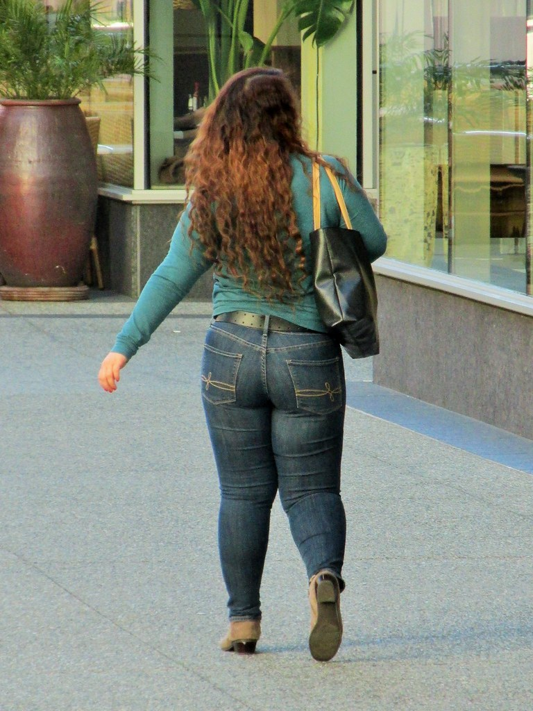 Chubby in jeans