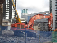 Arena Central demolition - Bridge Street, Birmingham