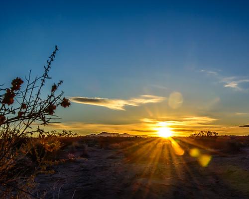 sunrise nevada mojavedesert pahrump