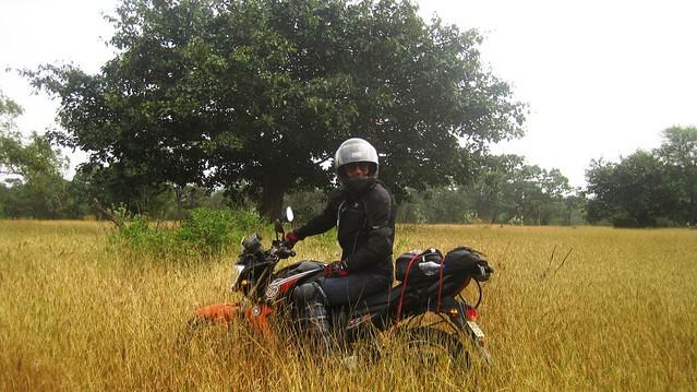 Exploring off the road at Srisailam