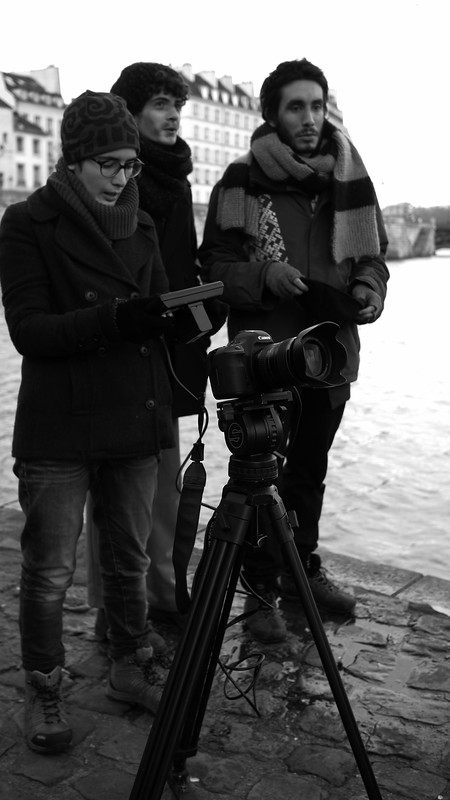 Jour Nº2 de tournage. Les Apaches
