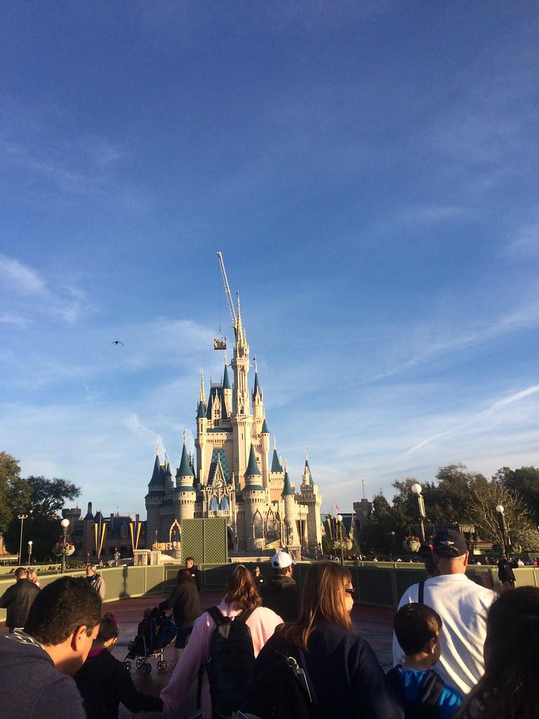 Magic Kingdom ALLLL day long.