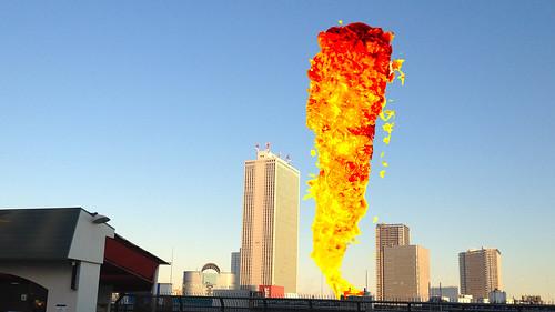 エビフライ爆発1