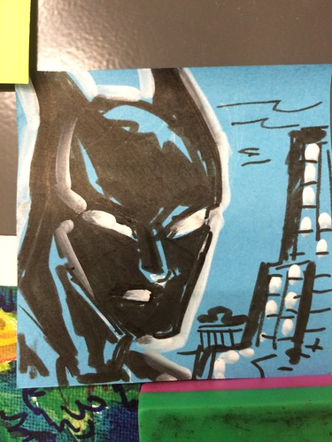 Post-it note sketch