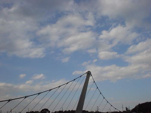 特徴的な橋