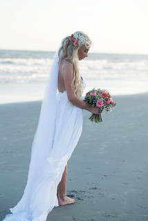 Bohemian Chic Bridal Portrait