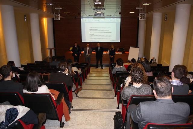 """Público asistente al seminario de """"Formación en Mediación Concursal"""""""
